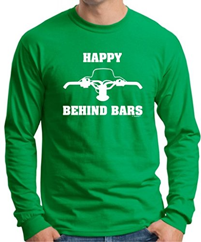 Happy Behind Snowmobile Sleeve T Shirt