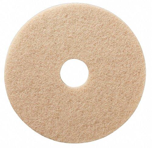 Burnish Pad, Tan, Size 18
