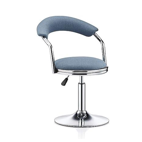 Amazon.com: NUBAO Silla pequeña giratoria, silla de oficina ...