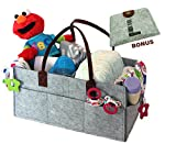 Lh's Baby Diaper Caddy Organizer   Nursery Diaper Tote Bag   Baby Shower Gift Basket   Changing Table Organizer   Medicine Bottles Organizer