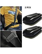 Seatbelt Seat Belt Adjuster,Seat Belt Clip Universal Shoulder and Neck Belt Locator Retainer Locking Clip, 2 Pieces
