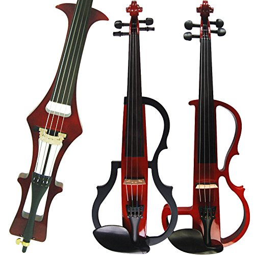 Leeche Handmade Professional Solid Wood Electric Cello 4/4 Full Size Silent Electric Cello-1803 by Leeche