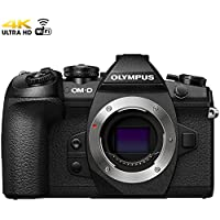Olympus OM-D E-M1 Mark II 20.4MP Live MOS Mirrorless Digital Camera - Black (Body Only) V207060BU000 - (Certified Refurbished)