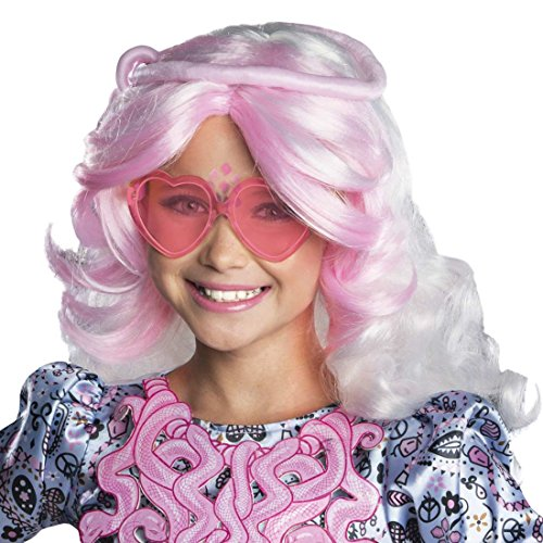 Rubies Monster High Frights Camera Action Vamperine Gorgon Wig, Child Size
