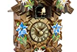 Adolf Herr Quartz Cuckoo Clock - Alpine Flowers