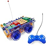 Snap Circuits R/C Snap Rover Electronics Exploration Kit | 23 Fun STEM Projects | 4-Color Project Manual | 30+  Snap Modules | Unlimited Fun