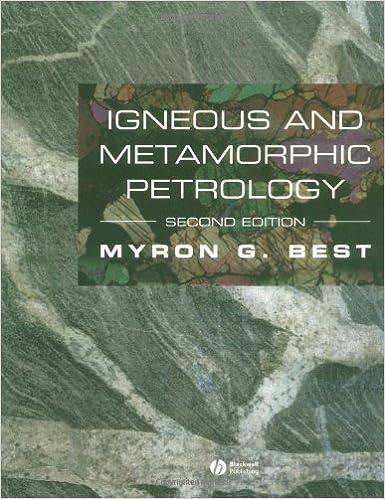 Book Igneous and Metamorphic Petrology