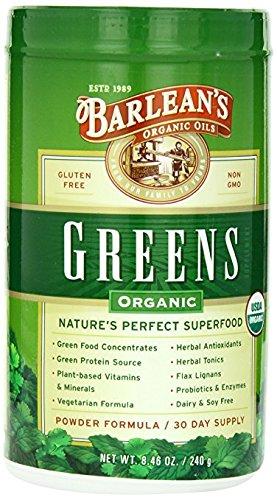 Barlean's Organic Oils Barlean's Greens Nutrients, 8.46 oz. (3 pack) by Unknown