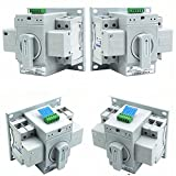 guangshun New Home Dual Power Automatic Transfer Switch 2P 63A 220V Toggle Switch Double Power Automatic Change-Over Switch