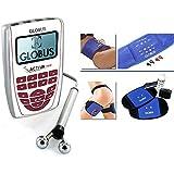 Globus ACTIVA 700 electroestimulador FAST BAND cintura FAST PAD con patas