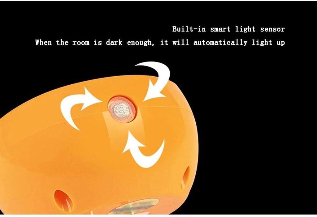 Tragbar und kompakt Nachtlicht Plug-in-Nachtlicht mit Sensor LED-Nachtlicht-Ausgangsschlafzimmer Nacht Studie Energiespar Weich-Nachtlicht Schön und zart (Color : 4piece) 1piece