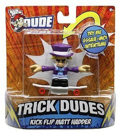 (Tech Deck Trick Dudes Kick Flip Matt Hadder)