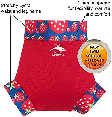 Babywarma /& NeoNappy Swim Nappy Cover Konfidence Baby Swim Set Strawberry, BWRB06-24-18, NN142-24