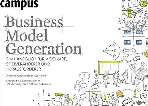 Business Model Generation von Alex Osterwalder und Yves Pigneur