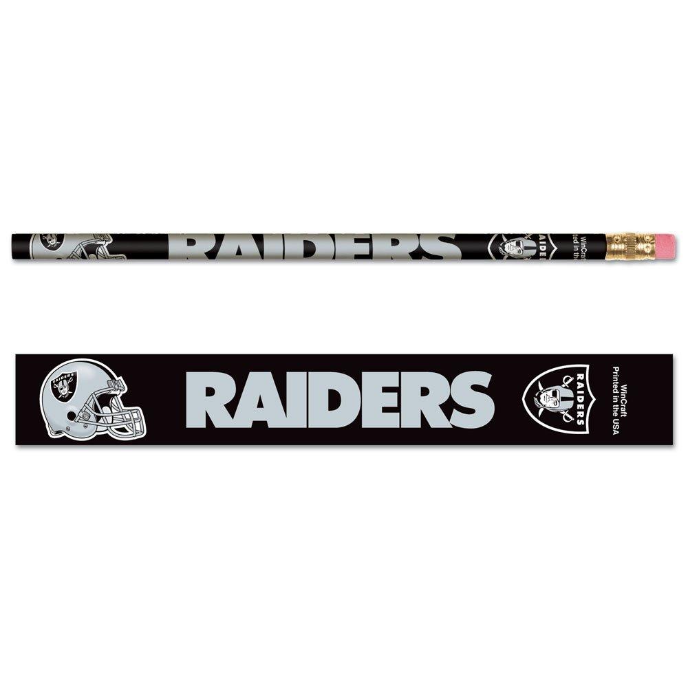 Oakland Raiders Pencils - Paquet de six (6)   B000E405RK