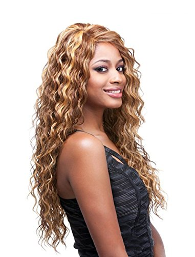 Search : Tsnomore african american wig Shoulder Length wig Afro Big Curly Women Wig (Mixed Brown)