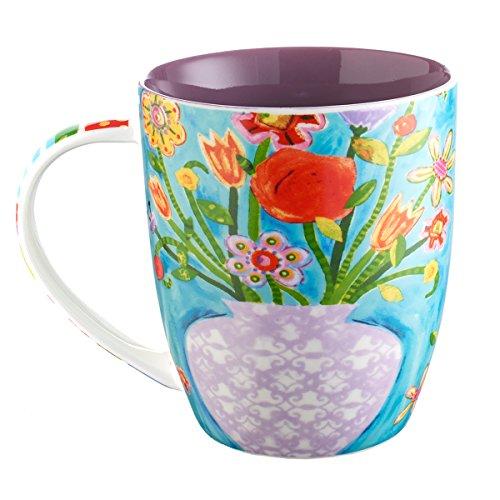 Floral Fancy Mug – Isaiah 40:8