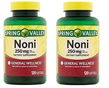 Amazoncom Natural Noni Vitamins Immune Health By Spring Valley