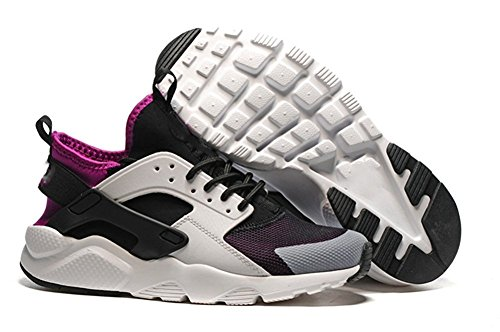 Women's Air Huarache Run Running Shoe Silver Peach 6.5 D(M)US=38EU