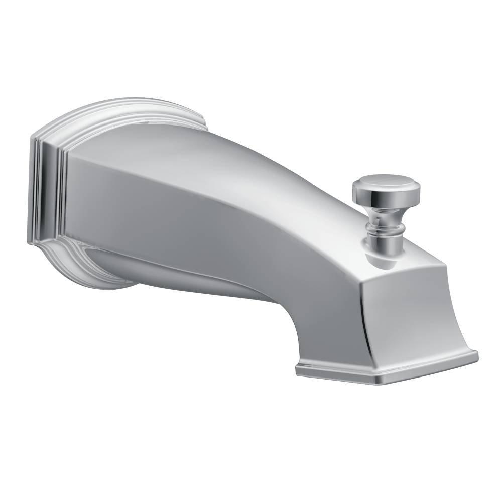 Moen S3859 Rothbury Diverter Spout, Chrome - Bathtub And Shower ...