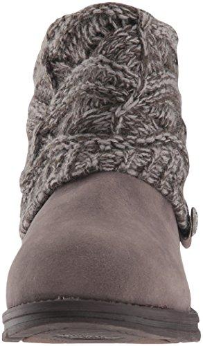 Muk Womens Grey Luks Boot Muk Fashion Luks Poala qR5Ttn