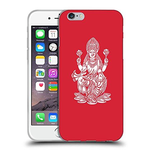 "GoGoMobile Coque de Protection TPU Silicone Case pour // Q09540601 Hindou 8 Alizarine // Apple iPhone 6 4.7"""