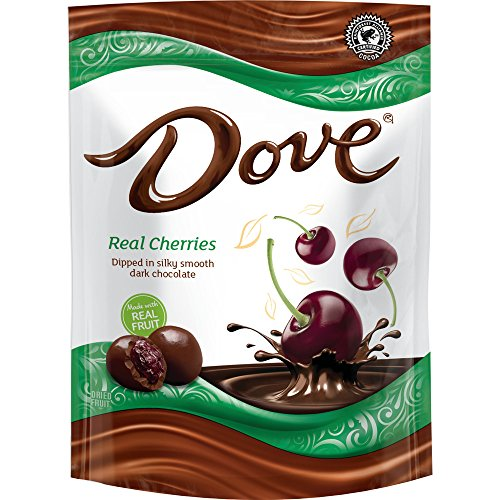 DOVE Fruit Dark Chocolate With Real Cherries 17-Ounce Pouch (Dark Chocolate Dove)