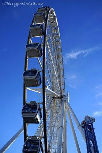 Pigeon Forge Ferris Wheel photographic print