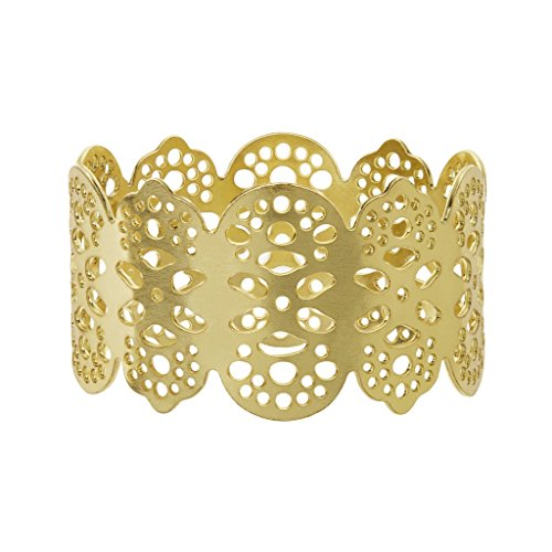 Eyelet Napkin Ring Brass Metal for Table Decoration - Victorian Eyelet