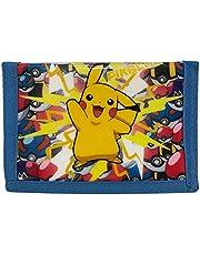 Pokemon Pikachu - Lightning Strike!- Coin & Card Tri-Fold Wallet