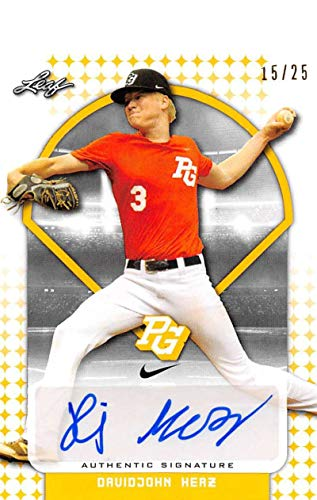 Amazon com: 2018 Leaf Perfect Game National Showcase Autographs