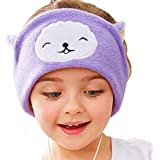 FIRIK Kids Headphones Volume Limited with Easy Adjustable Kids Costume Headband Silky Headphones for Children, Perfect for Travel and Home - Llama