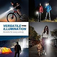 Ledeak Linterna LED Alta Potencia, 1200 Lúmenes CREE L2 Antorcha ...