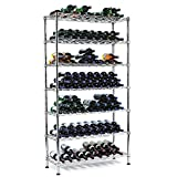 Wine Enthusiast Steel Pantry Wine Rack (126 Bottles) For Sale