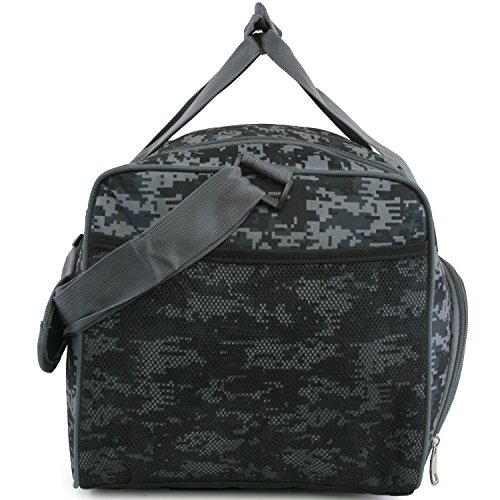 51sdl5ApdaL - Fila Source Sm Travel Gym Sport Duffel Bag, Black Digi Camo