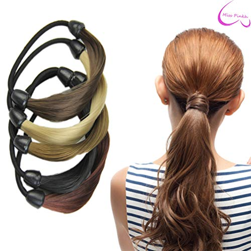 Fashion Straight Elastic Scrunchie Ponytail product image