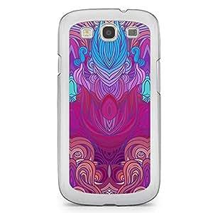 Hairs Samsung Galaxy S3 Transparent Edge Case - Design 13