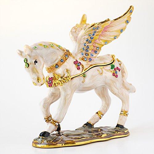 Vintage Style Pegasus, Winged Horse Trinket Box ()