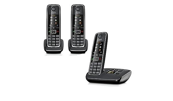 Gigaset C530 A Trio – Teléfono Fijo Inalámbrico Siemens: Amazon.es: Electrónica
