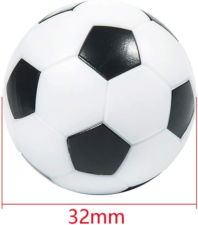 MOOKLIN ROAM 10 PCS Mesa Mini plástico Pelotas de fútbol 32mm ...