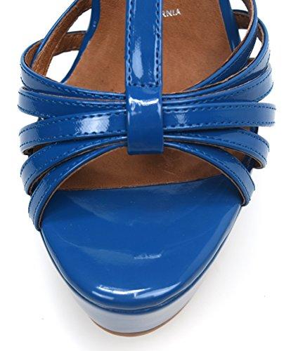 Vernce Donna Jeffrey Sandalo Cm Scarpa Swansong Zeppa Campbell 13 Art Blu U5x0Fxpwn