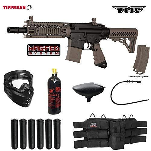 Sling Padded Rifle Deluxe (Tippmann TMC MAGFED Titanium Paintball Gun Package - Black/Tan)