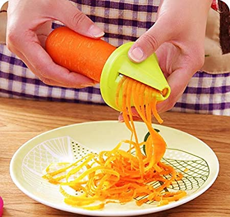 Hot Kitchen Funnel Model Spiral Slicer Vegetable Shred Carrot Radish Cutter Hot