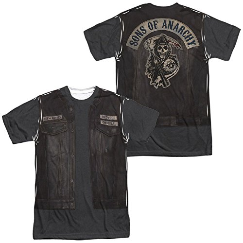 Sons of Anarchy Juice Costume Adult All Over Print 100% Poly T-Shirt 2XL