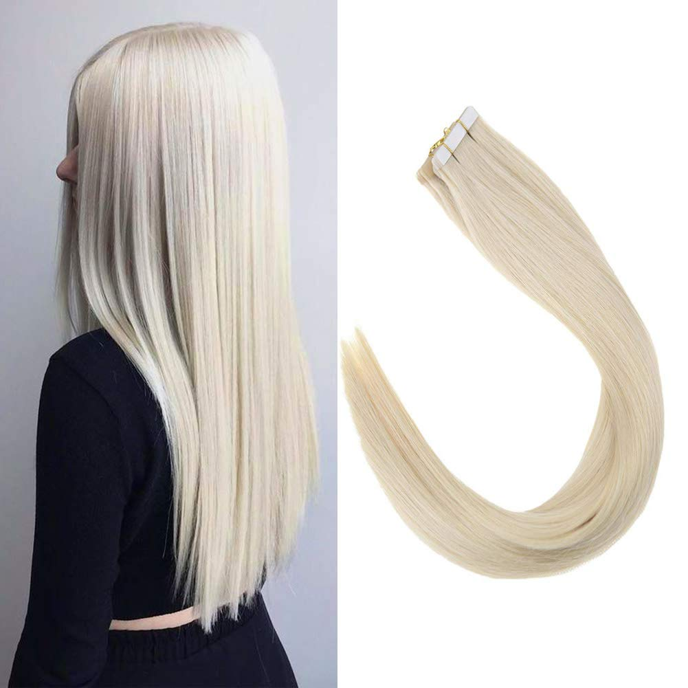 Sunny 22 Tape in Hair Extensions Human Hair Ombre Colorful Natural Black to Medium Brown Highlighted Extensions 40pcs 100g per package ltd