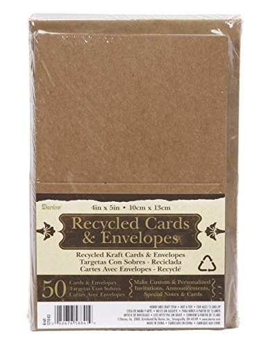 RECYCLED GREETING 4 25x5 5 ENVELOPES MAKE INVITES product image