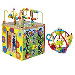 Alex Toys Alex Jr. My Busy Town Play Cube with Activity Ball