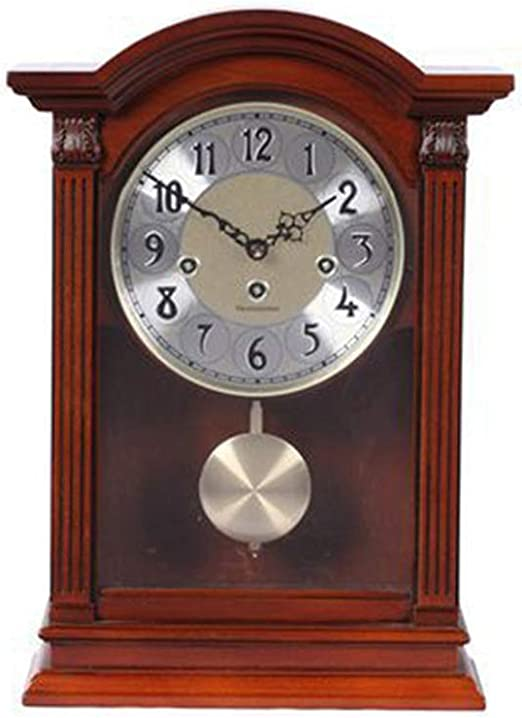 Reloj de Mesa de Madera Maciza - Sala de Estar Reloj de Madera ...