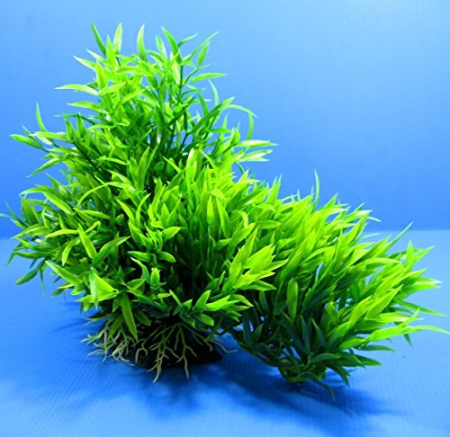 3D Aquarium PLASTIC PLANTS 13''L Ornament fish Decor pet by Aquarium Equip