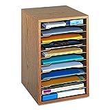 Safco Products Vertical Desktop Sorter, 11